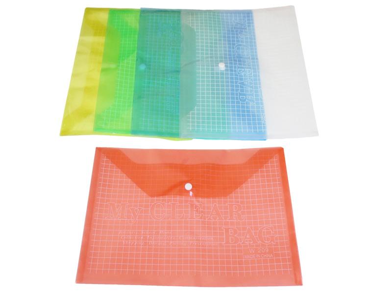 Fascikla A4, plastificirana, 16 micro (252128)