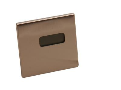 Metalni stoni sat sa termometrom (332547)