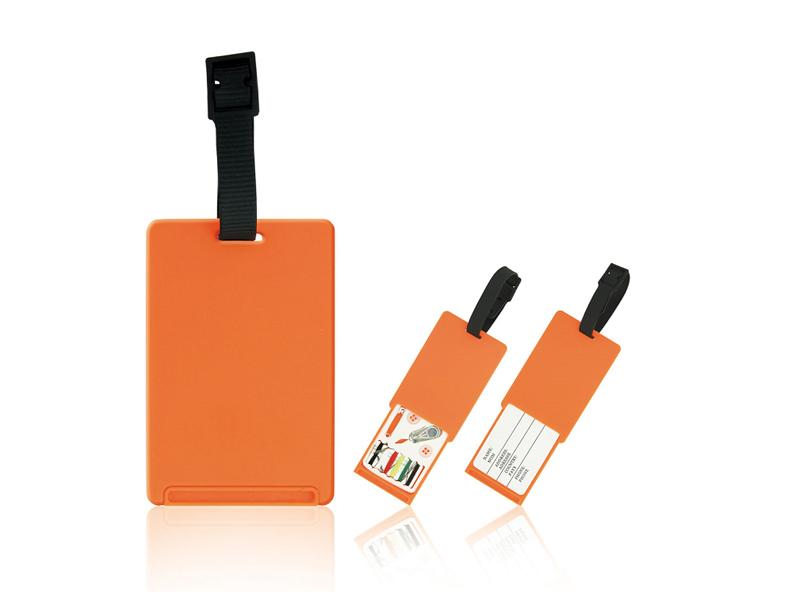 PVC kartica za kofer sa setom za šivenje (362699)
