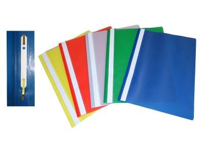 Fascikla PVC, A4, sa polumehanizmom (252811)
