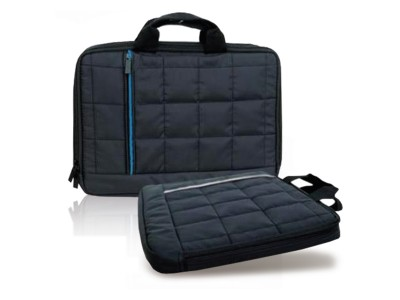 (2857) Trendy flat poslovna torba za A4 dokumenta ili mali laptop