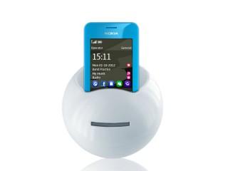 Plastična kasica u obliku lopte sa držačem za telefon (362864)