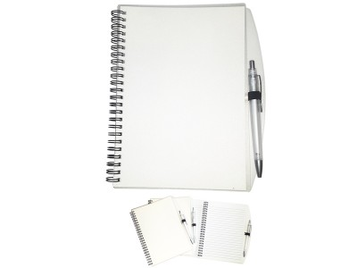 Notes A5 sa plastičnom hemijskom olovkom (322878)