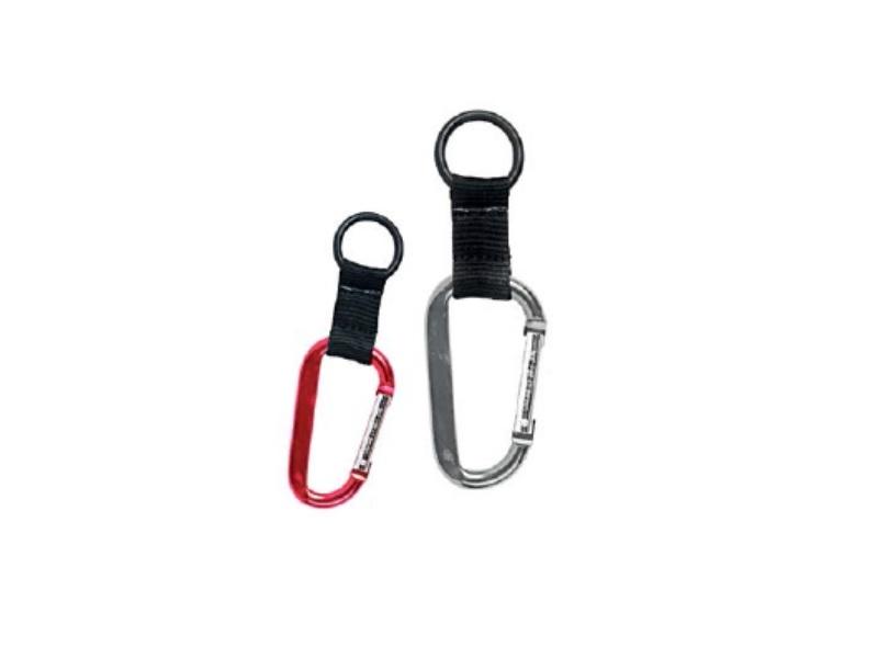Metalni privezak za ključeve sa karabinerom (362945)