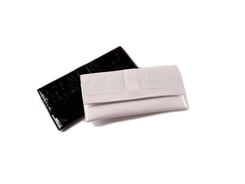 Elegantna torbica, pismo, bela (384232)
