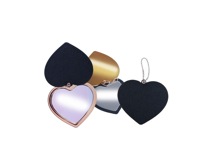Plastično dvojno ogledalo u obliku srca (384242)