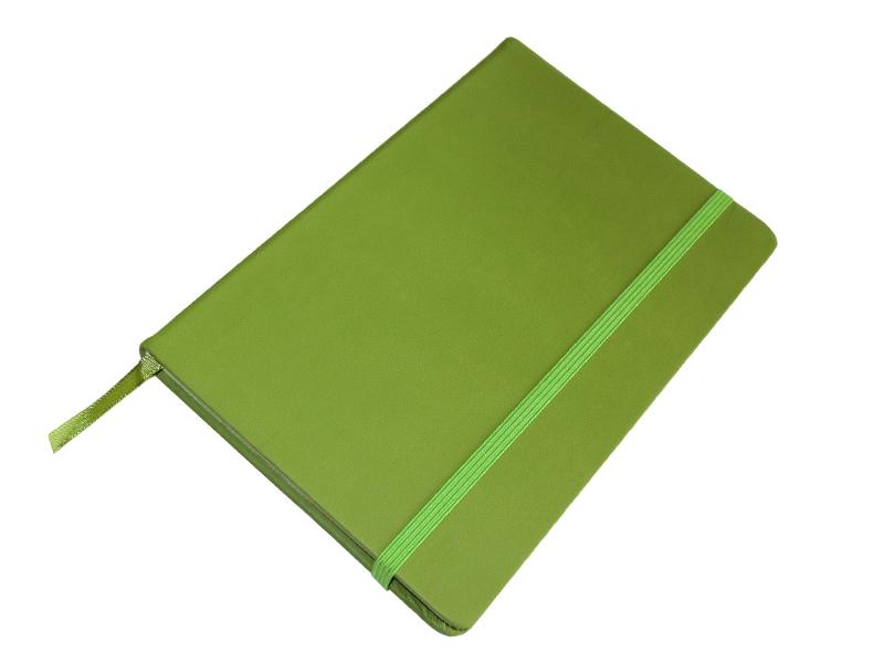 JCC trend dnevnik (rokovnik), tvrde korice, pozadi džep, zeleni (324332)