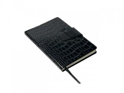 A5 damska agenda (rokovnik), lakirane korice od eko kože (324339)