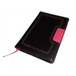 Fancy A6 agenda (rokovnik) bez datuma, termo pu tvrde korice, pink (324340)