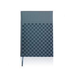 Moderna B5 agenda (rokovnik) bez datuma, termo PU tvrde korice, sivi (324344)