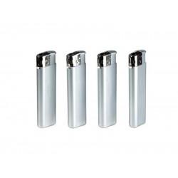 Plastični metalik sivi elektronski upaljač (356111 )