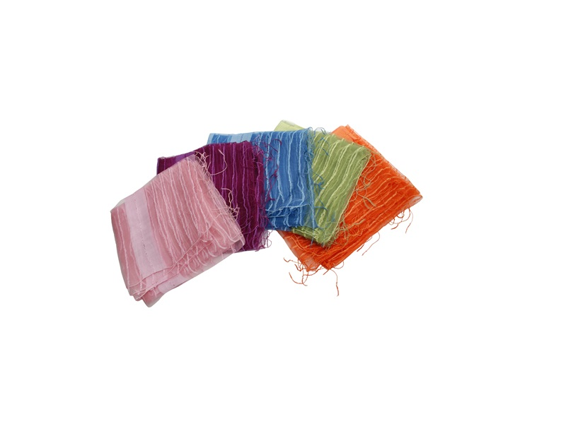 Ešarpe, roze boje, 65% viskoza, 35% svila  (429200)