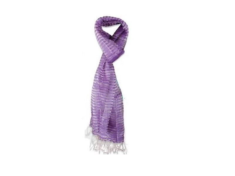Ešarpa, 100% svila violet boje (429202)