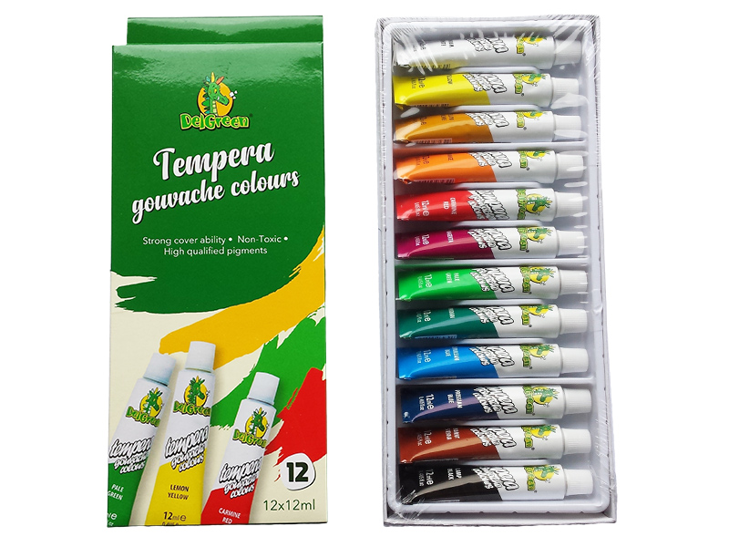 Tempere 12 u 1, 12ml, DelGreen (102422-12)