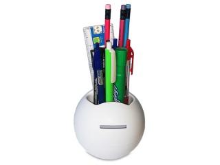 Plastična kasica u obliku lopte sa držačem za sitni pribor (362864)