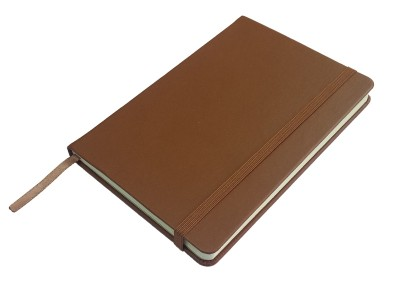 Rokovnik JCC trend, tvrde korice, pozadi džep, braon (324332)