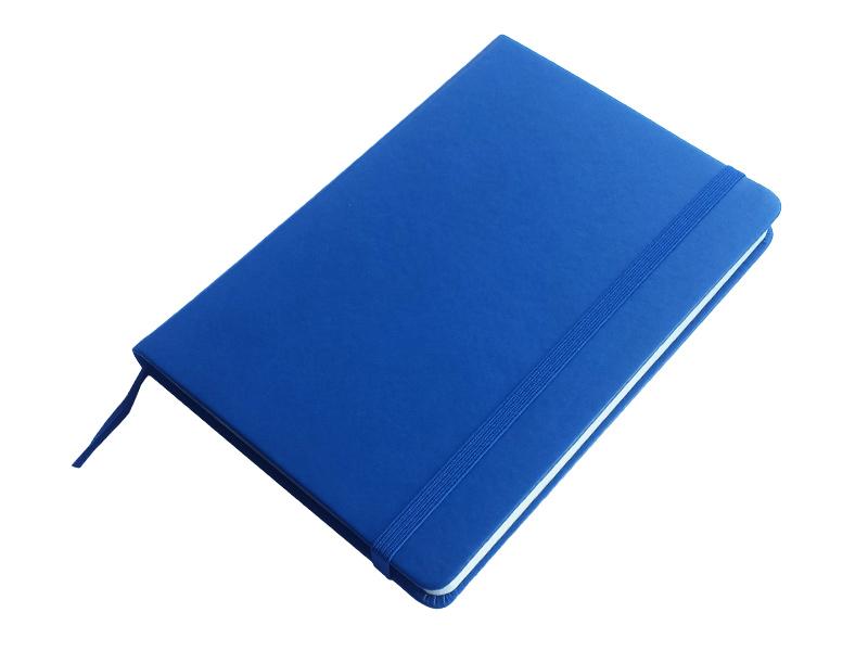 JCC trend dnevnik bez datuma, PU tvrde korice, pozadi džep, plavi  (324332)